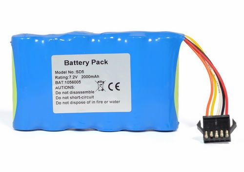 High quality Vital Signs Monitor NI-MH Battery for EDAN SD5 SD6